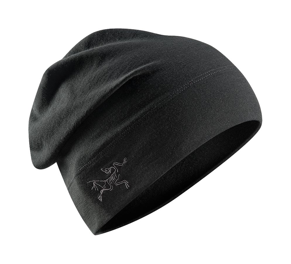 Arcteryx Black Rho LTW Long Toque