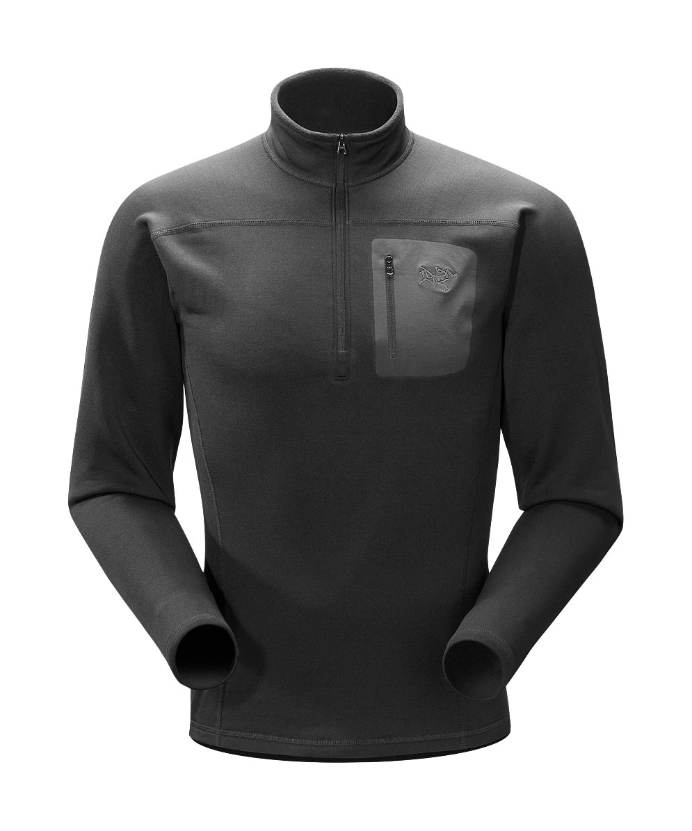 Arcteryx Black Rho AR Top