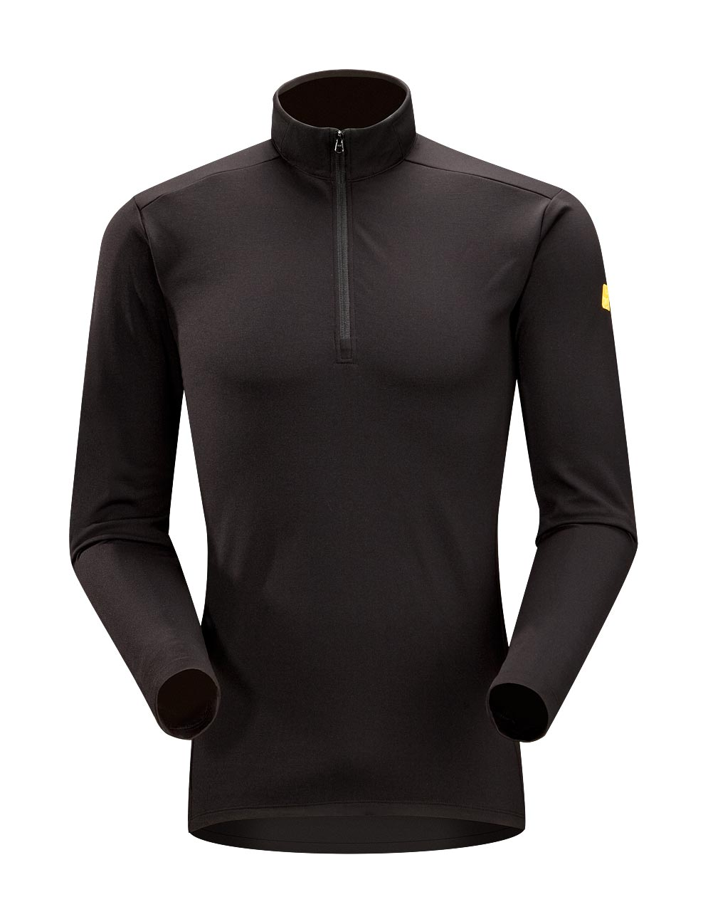 Arcteryx Black Phase AR Zip Neck LS