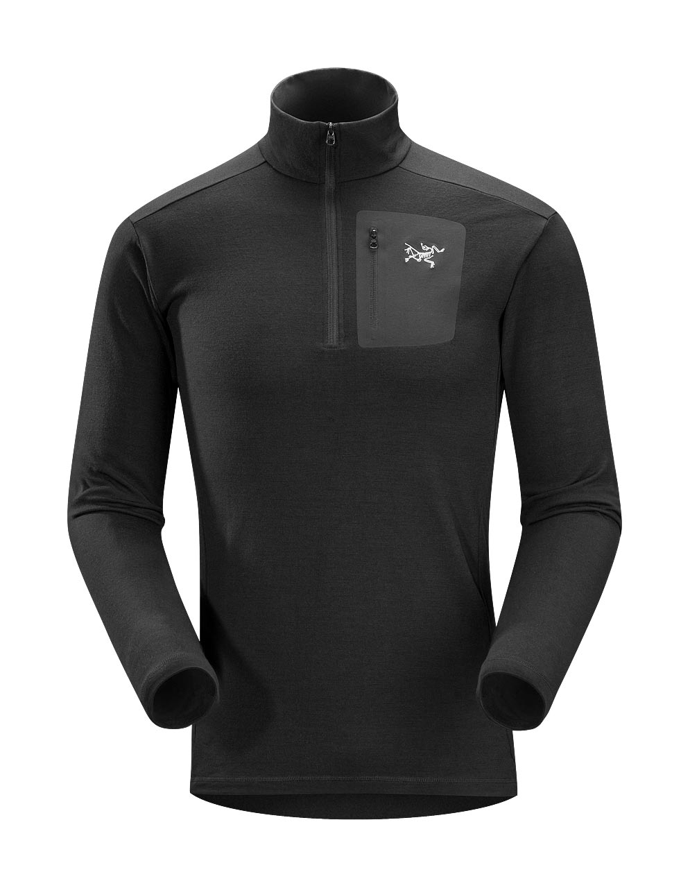 Arcteryx Black Rho LT Zip