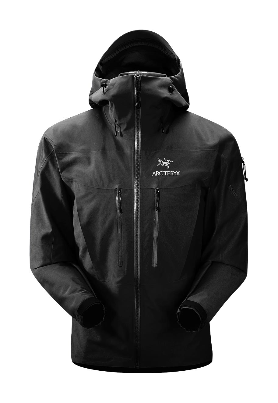 Arcteryx Black Alpha SV Jacket