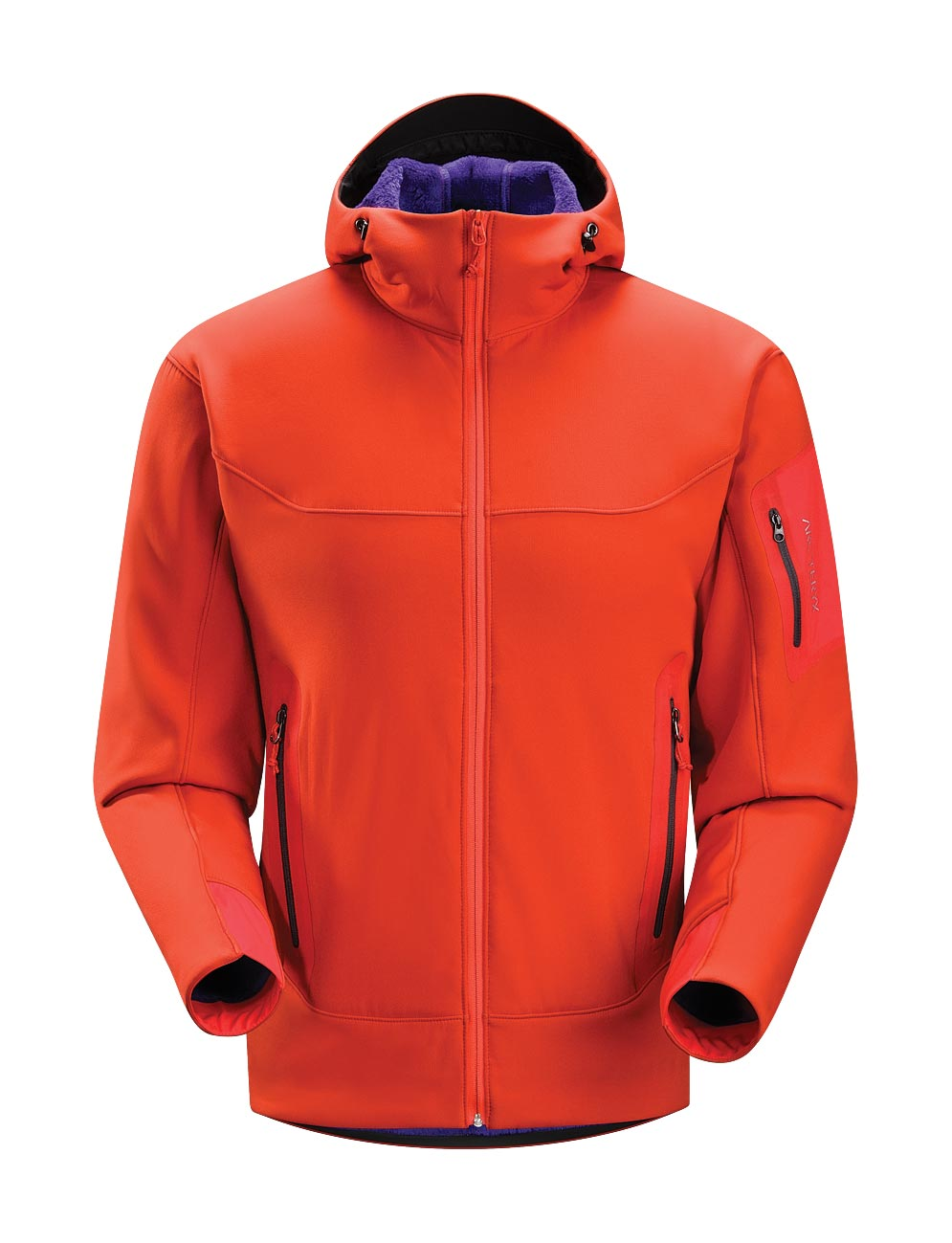 Arcteryx Road Rash Red Hyllus Hoody