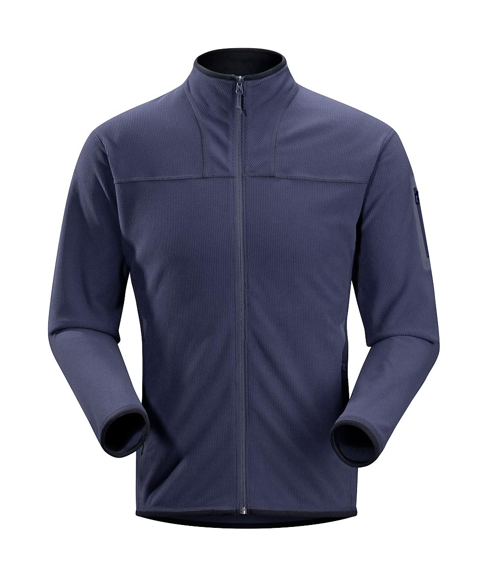 Arcteryx Blue Kyanite Caliber Cardigan