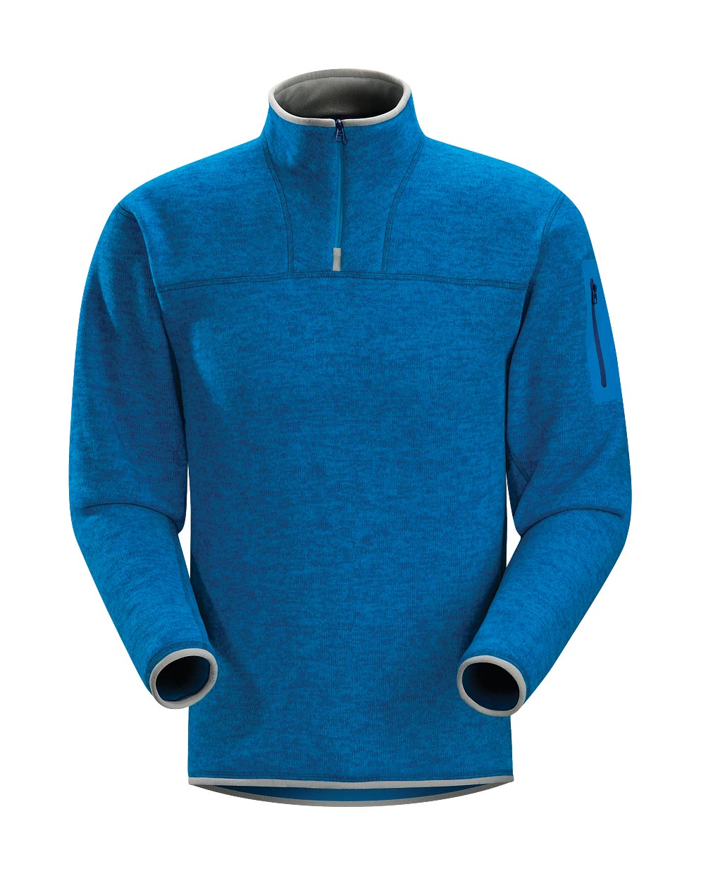 Arcteryx Blue Ray Covert Zip Neck