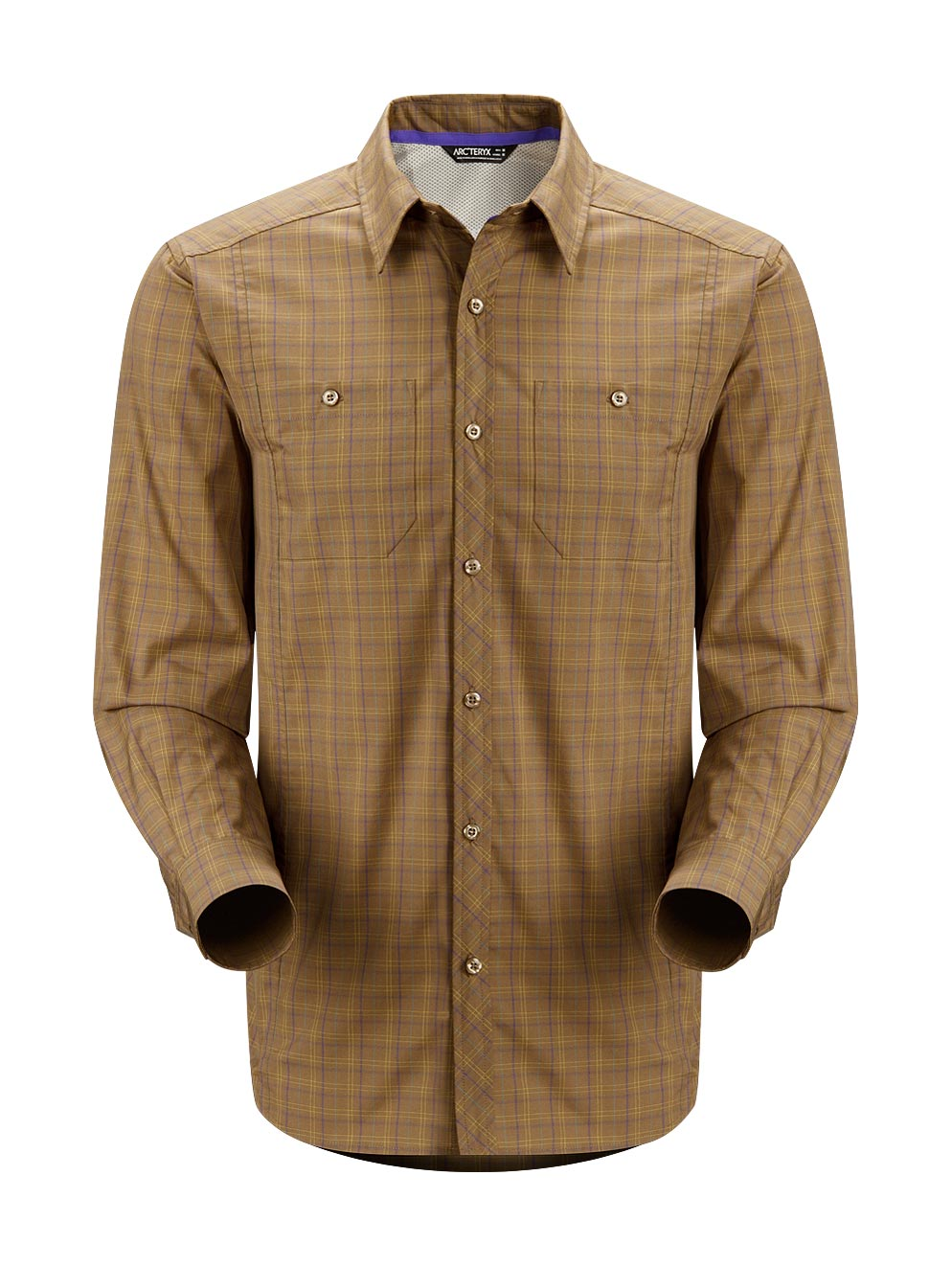 Arcteryx Nubian Brown Borderline Shirt LS - New