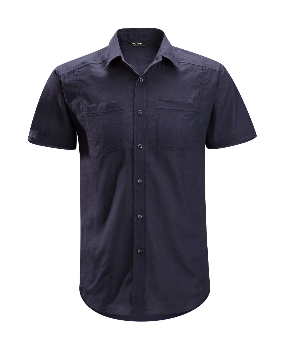 Arcteryx Blue Kyanite Ravelin Shirt SS - New