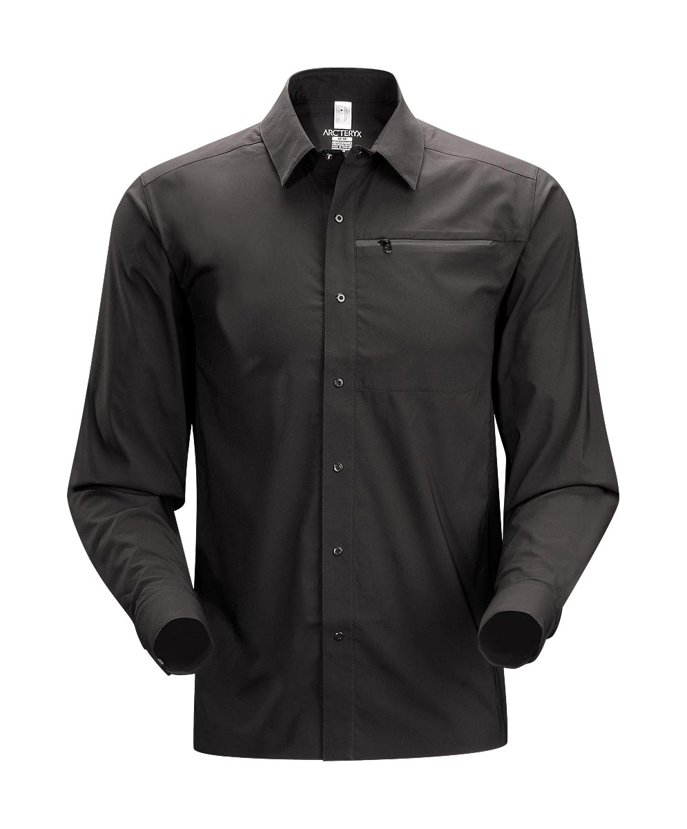 Arcteryx Black Skyline Shirt LS