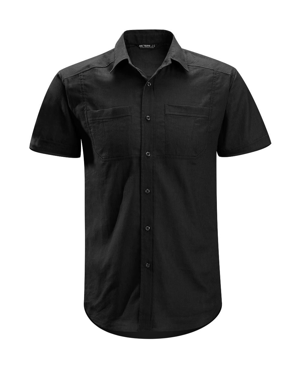 Arcteryx Black Ravelin Shirt SS - New