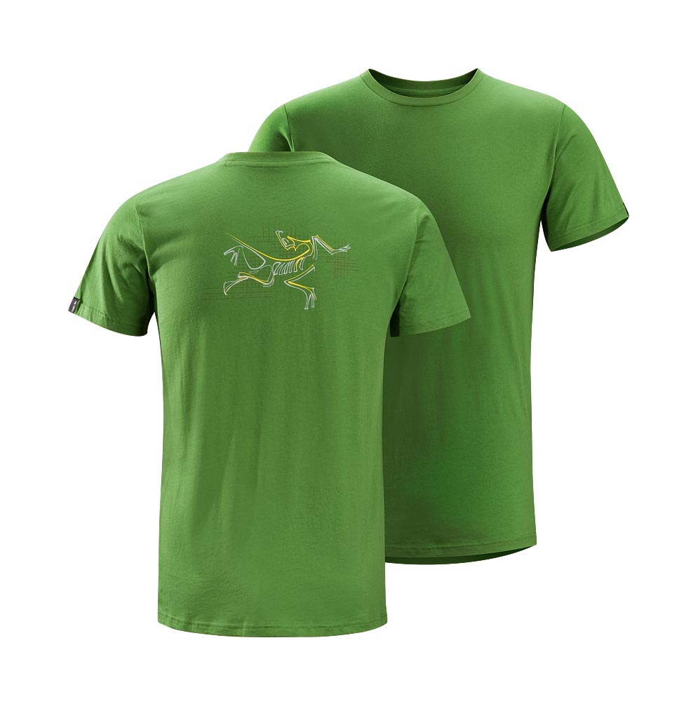 Arcteryx Green back Graph Bird T-Shirt
