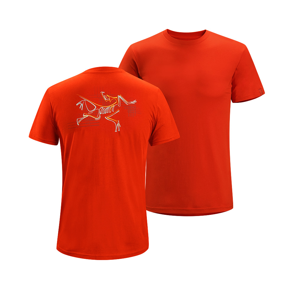 Arcteryx Iron Oxide Graph Bird T-Shirt