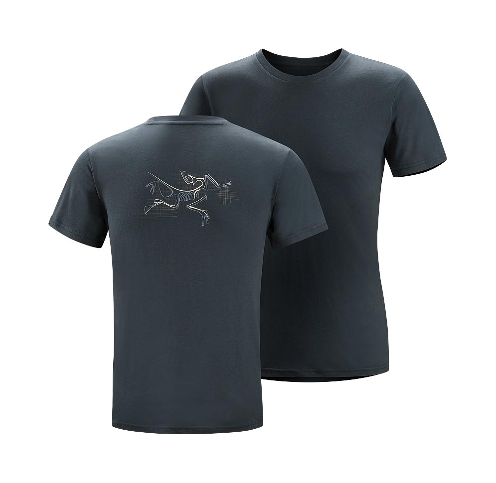 Arcteryx Night shade Graph Bird T-Shirt