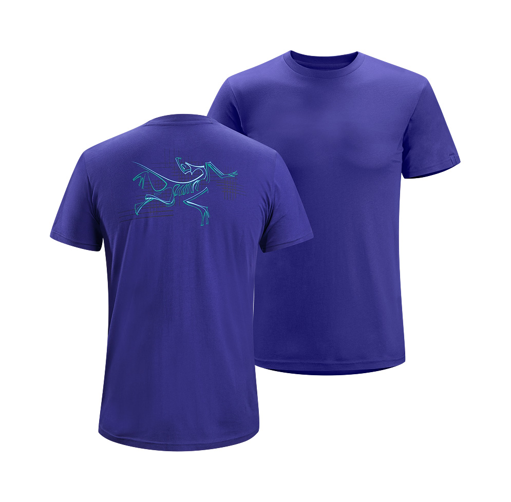 Arcteryx Squid Ink Graph Bird T-Shirt