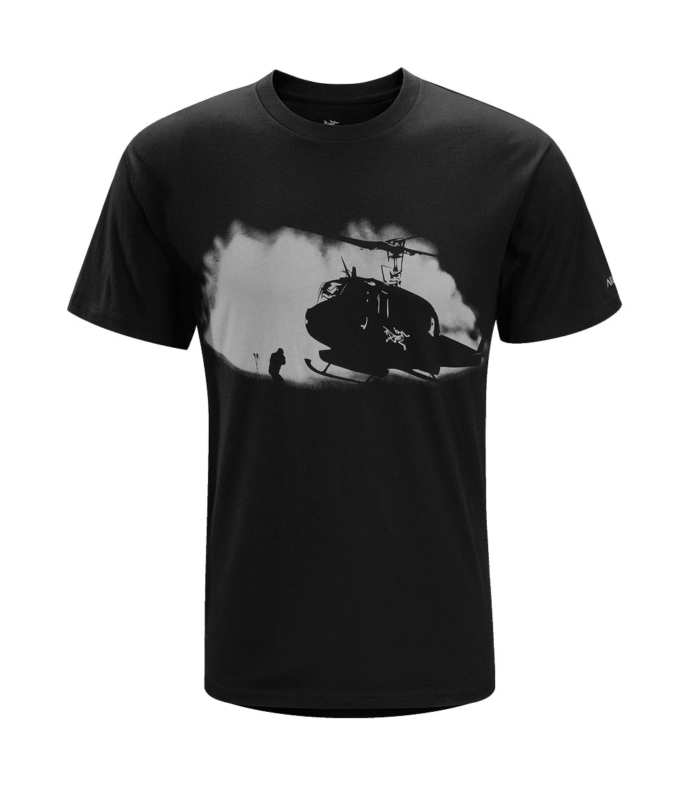 Arcteryx Black bird Rotor Wash T-Shirt