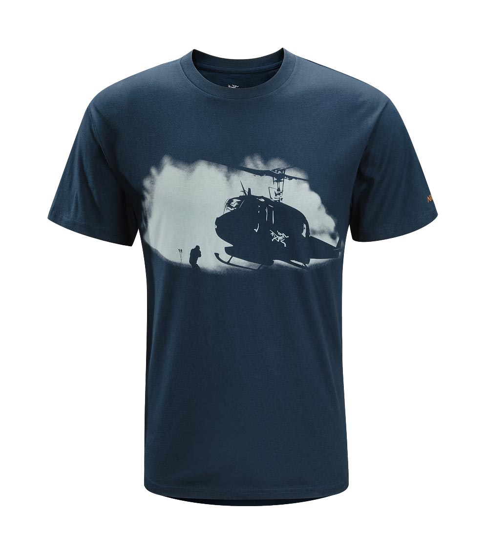 Arcteryx Blue Moon Rotor Wash T-Shirt