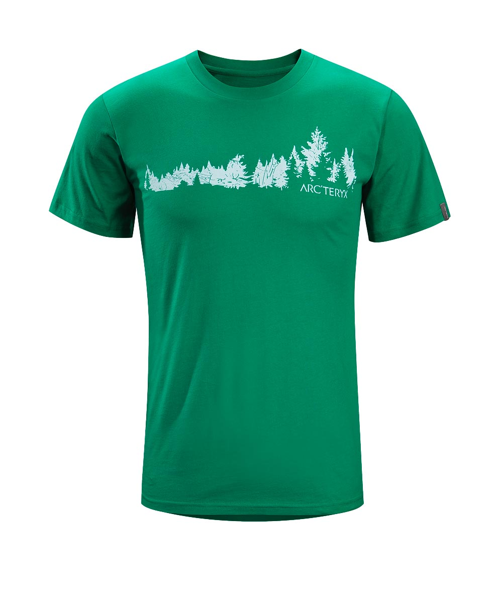 Arcteryx Green Light Treeline T-Shirt