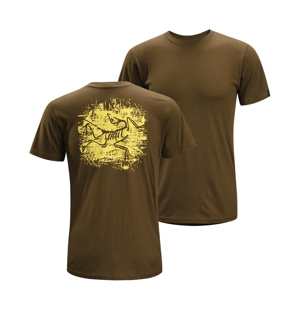 Arcteryx Donegal Brown Distressed Bird T-Shirt