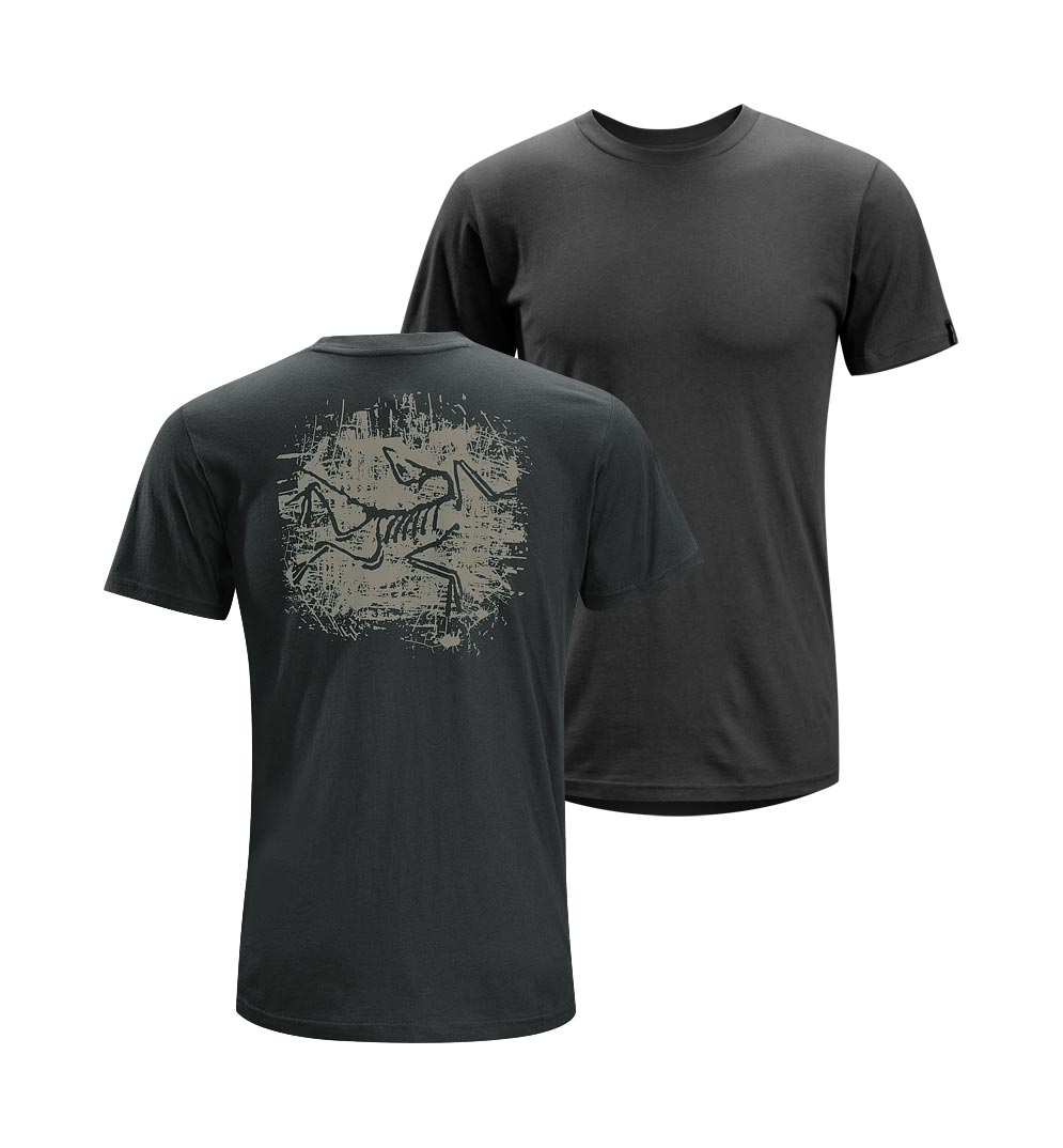 Arcteryx Night shade Distressed Bird T-Shirt