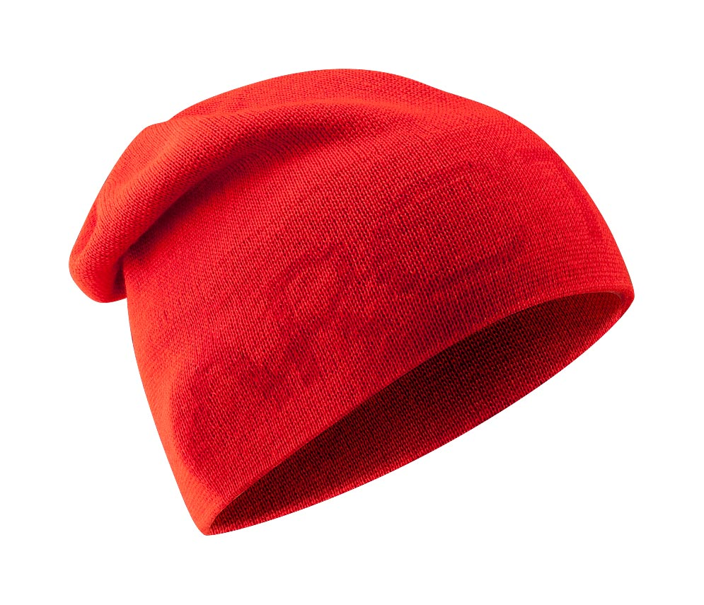 Arcteryx Road Rash Red Word Head Long Toque