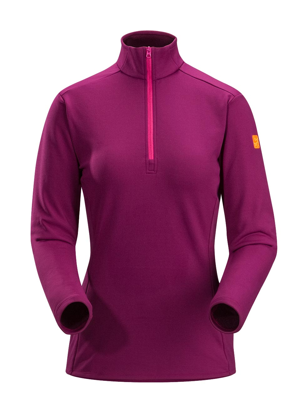 Arcteryx Purpura Phase SV Zip Neck LS