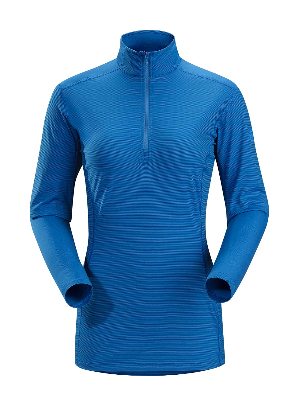 Arcteryx Betty Blue Phase SL Zip Neck