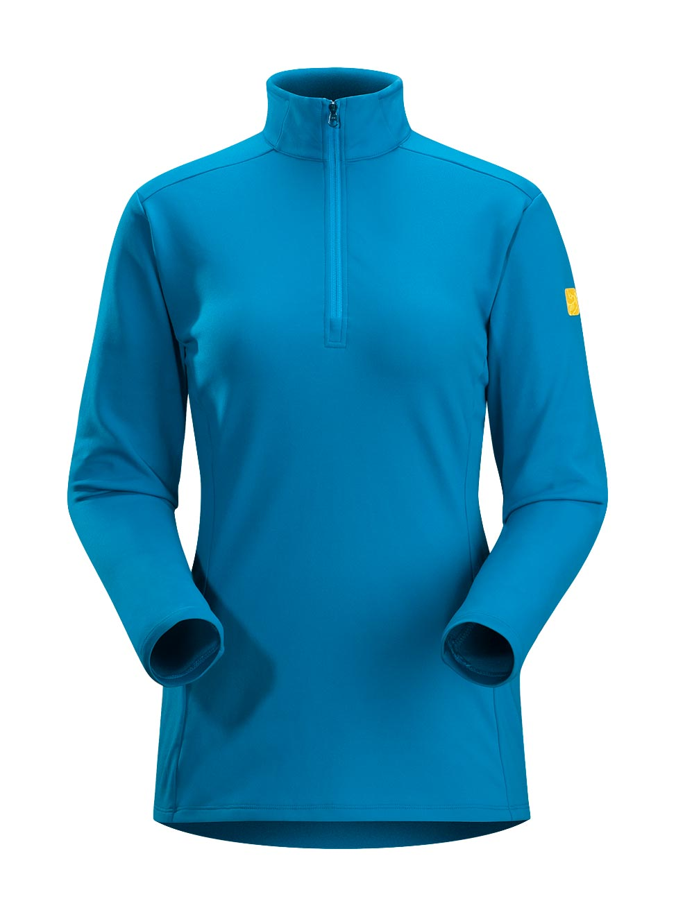 Arcteryx Bondi Blue Phase AR Zip Neck LS