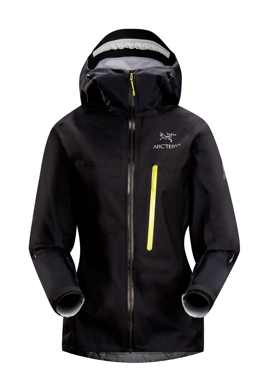 Arcteryx Black Alpha FL Jacket - New