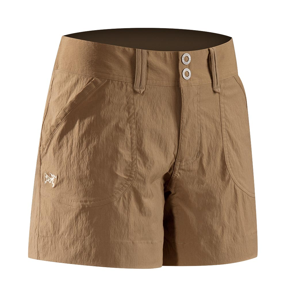 Arcteryx Nubian Brown Parapet Short - New