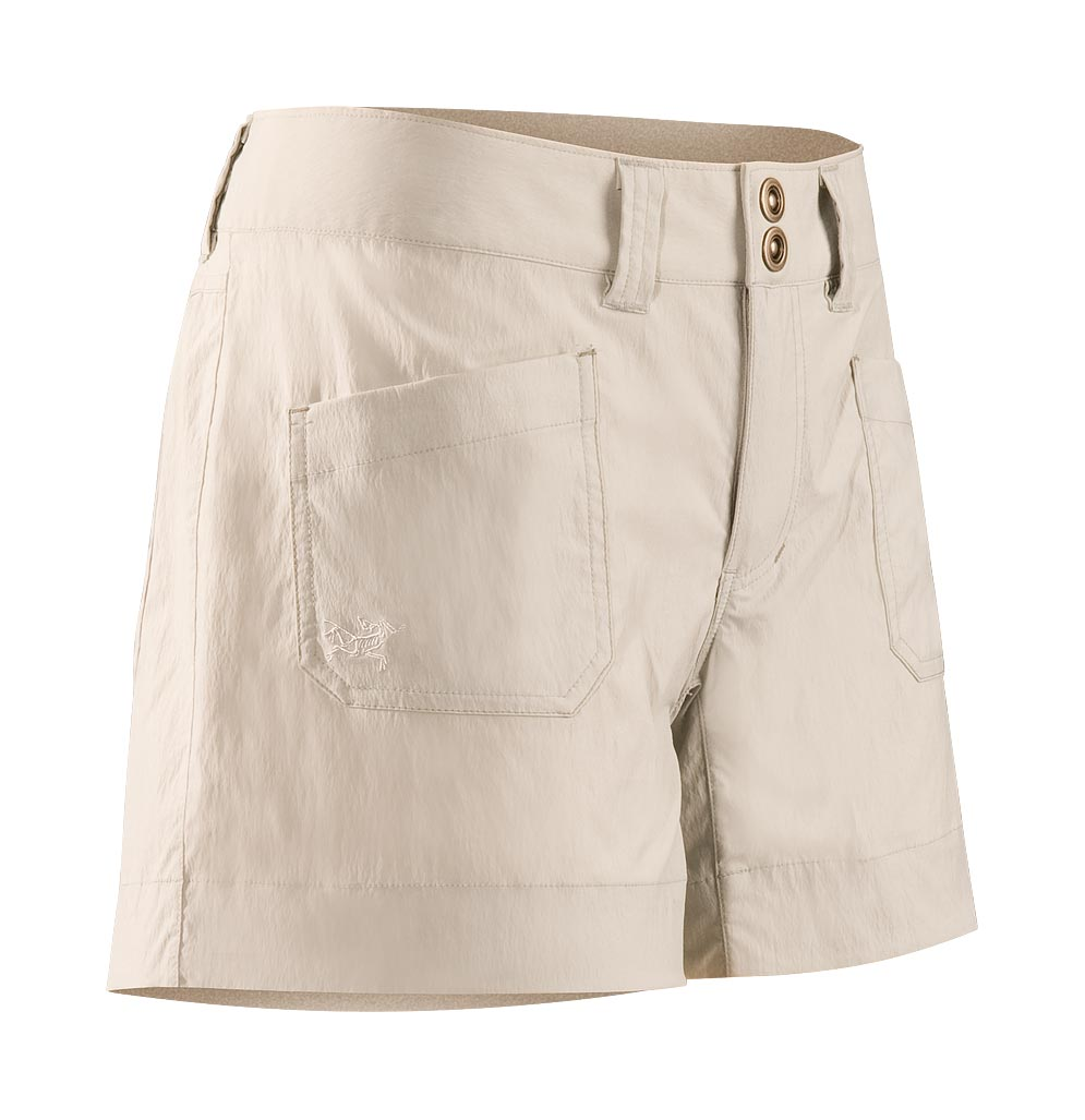 Arcteryx Pearl Gray Rampart Short
