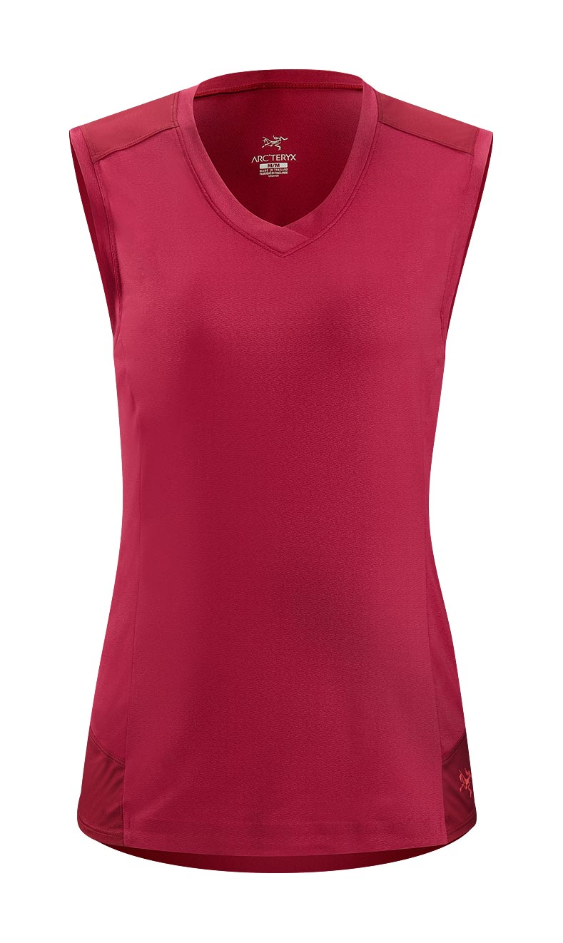 Arcteryx Cassis Rose Mentum Comp Sleeveless