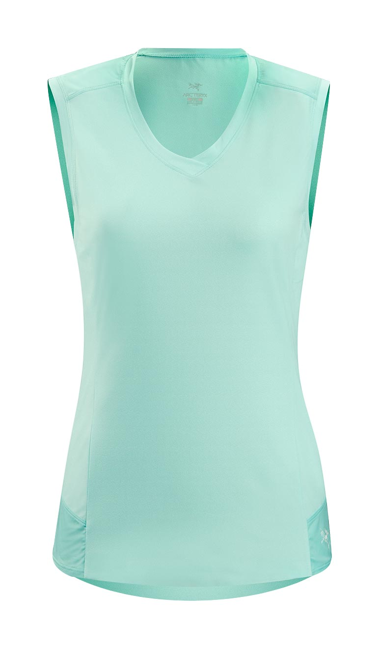 Arcteryx Blue Opal Mentum Comp Sleeveless